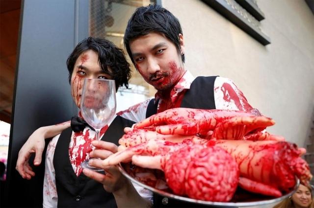 Парад в честь Хэллоуина в Японии (17 фото) (8)