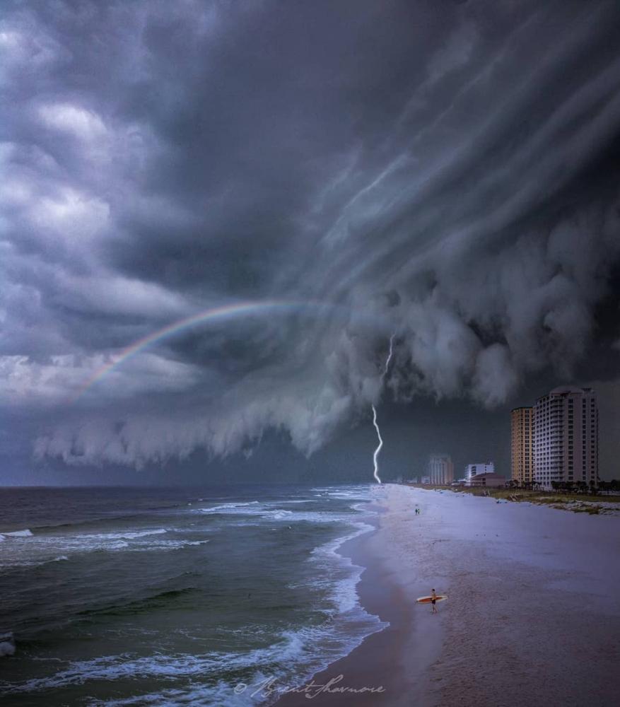 Пляжи из другого мира_ сказочные пейзажи Брента Шавнора (13)
