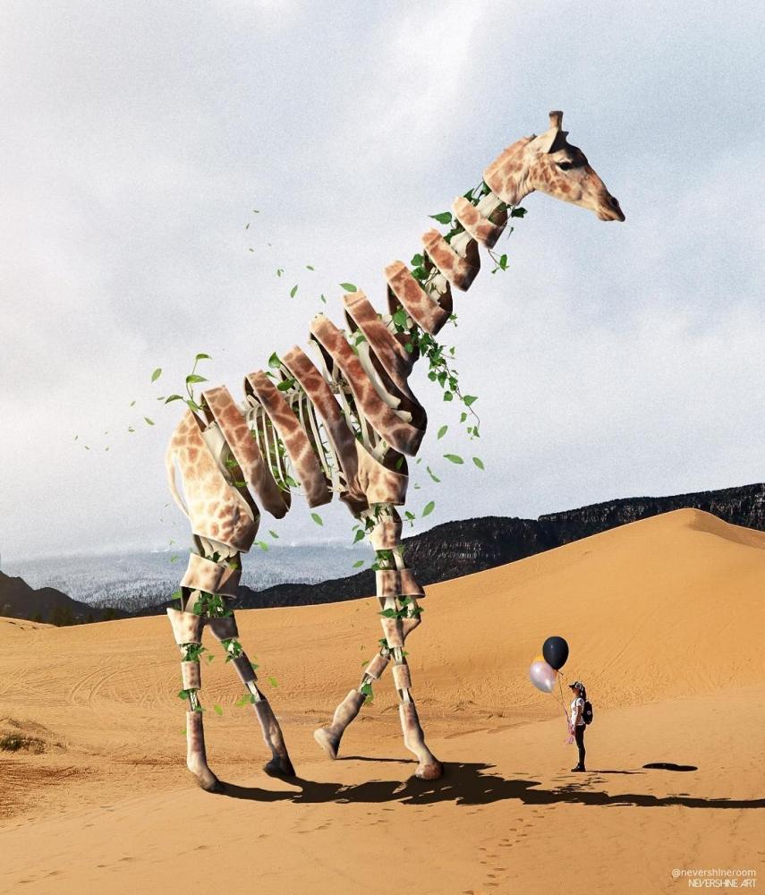 Сказочные животные_ озорные фотоманипуляции Адэ Маолана (10)