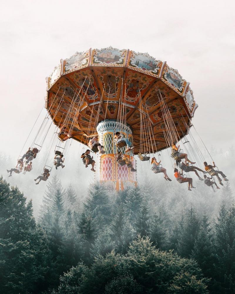 Сюрреалистические и сказочные фотоманипуляции Текина Тюре (12)