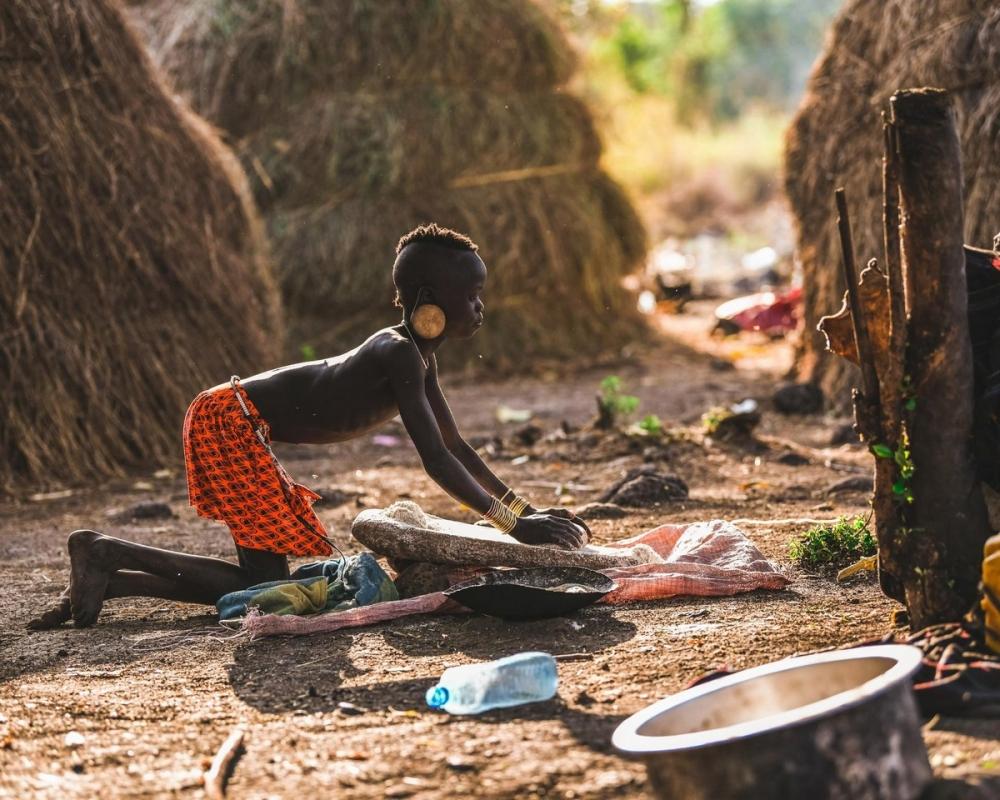 Удивительные фотографии представителей племени хамар (11)