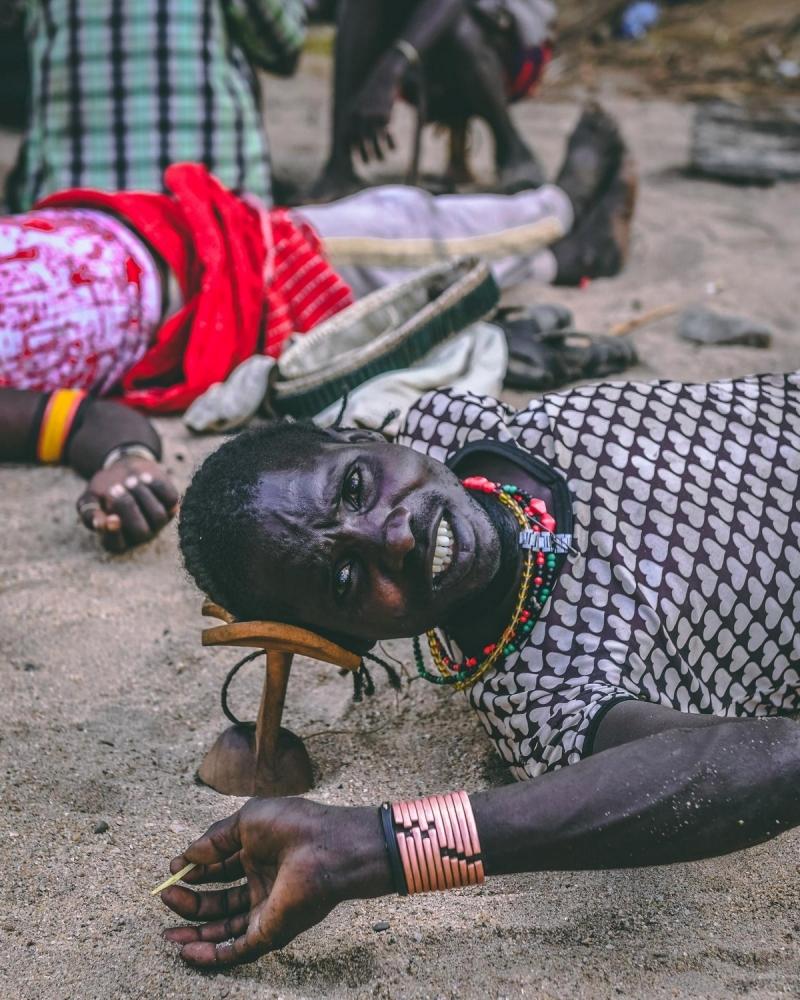 Удивительные фотографии представителей племени хамар (6)