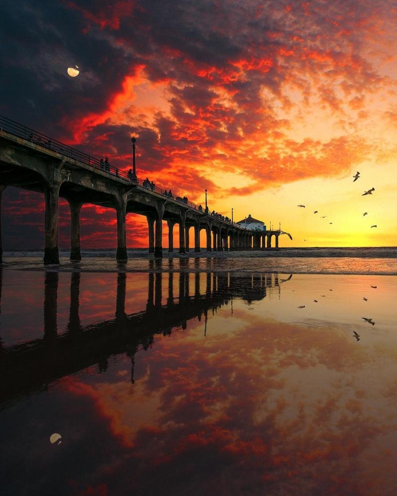 Удивительные пейзажи Калифорнии Нейта Кэрролла (11)