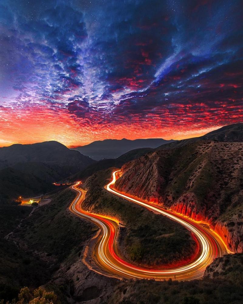 Удивительные пейзажи Калифорнии Нейта Кэрролла (12)