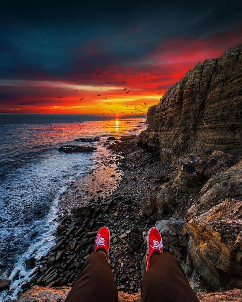 Удивительные пейзажи Калифорнии Нейта Кэрролла (13)