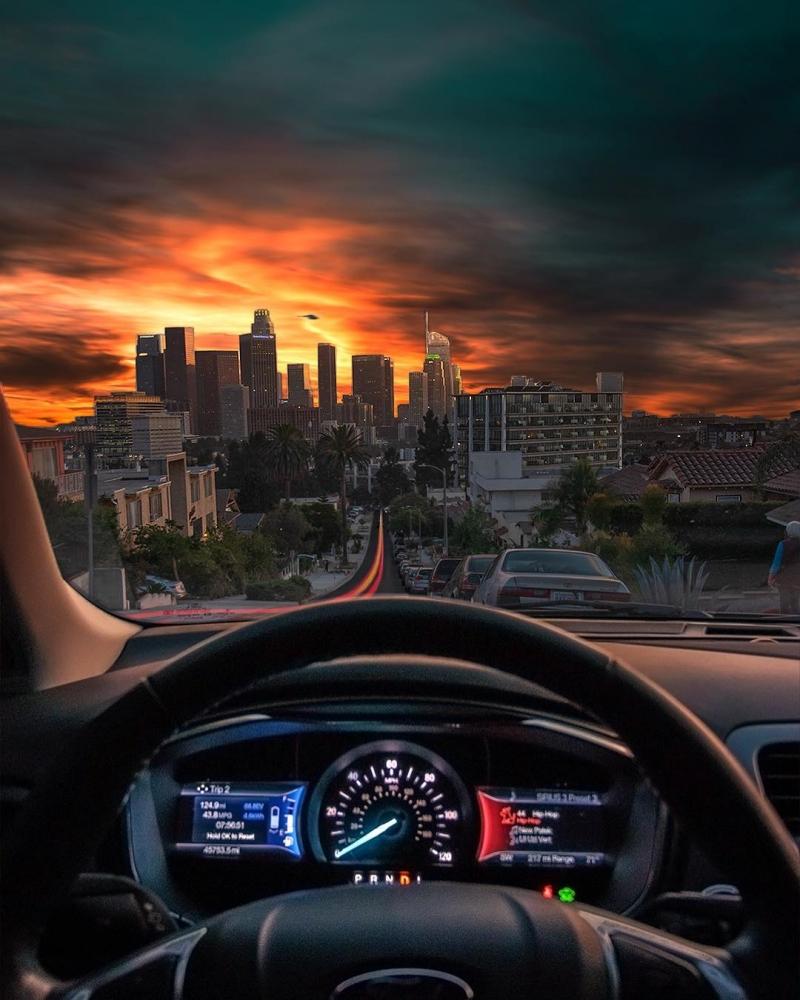 Удивительные пейзажи Калифорнии Нейта Кэрролла (6)
