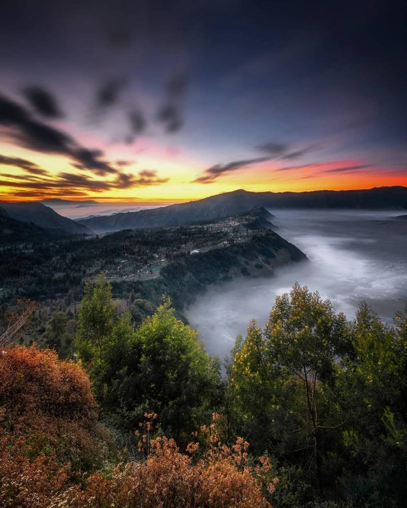 Великолепные природные пейзажи Индонезии от Лонго Хиндарто (12)