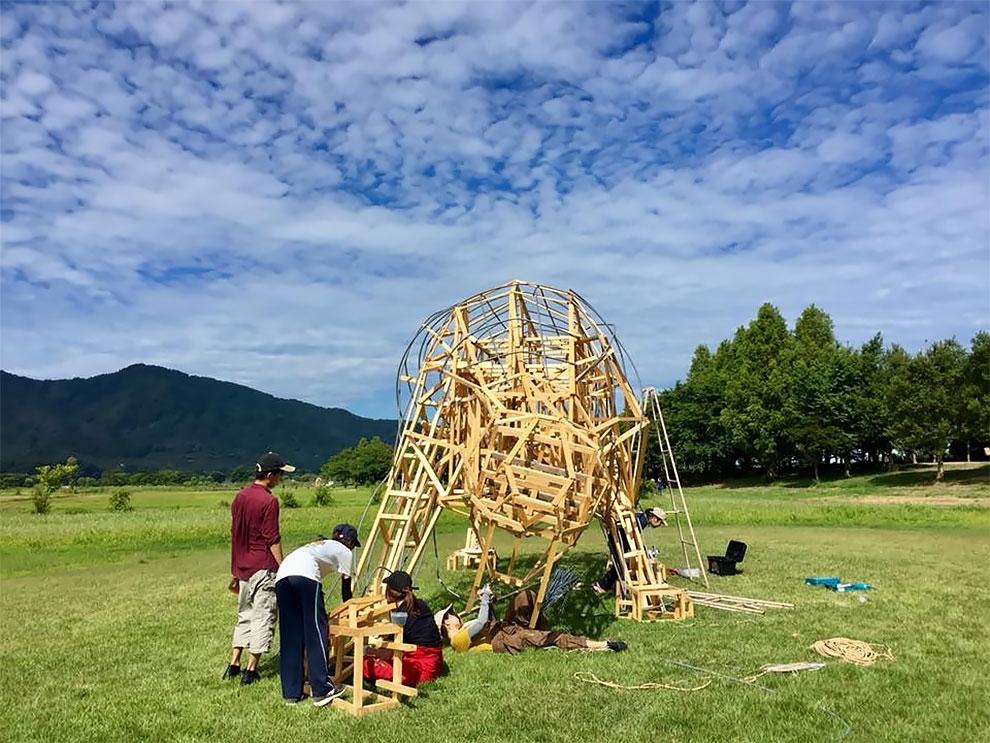 Wara Art Festival в Японии (12)
