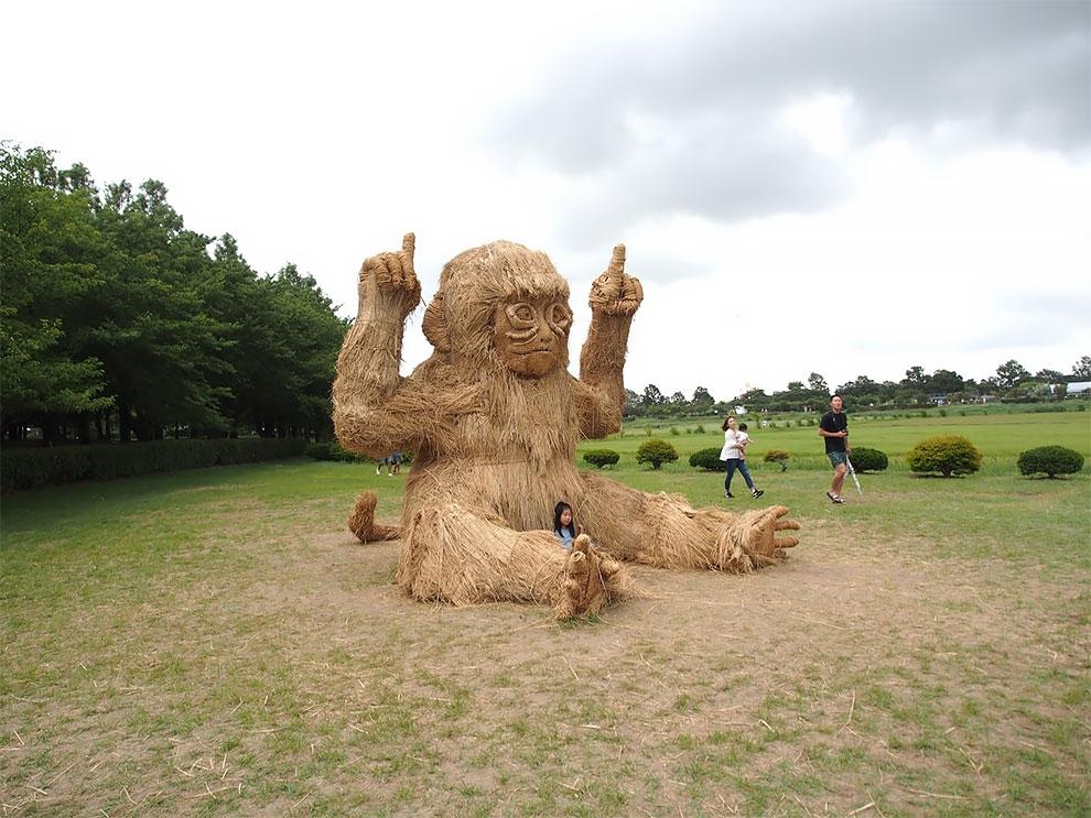 Wara Art Festival в Японии (8)