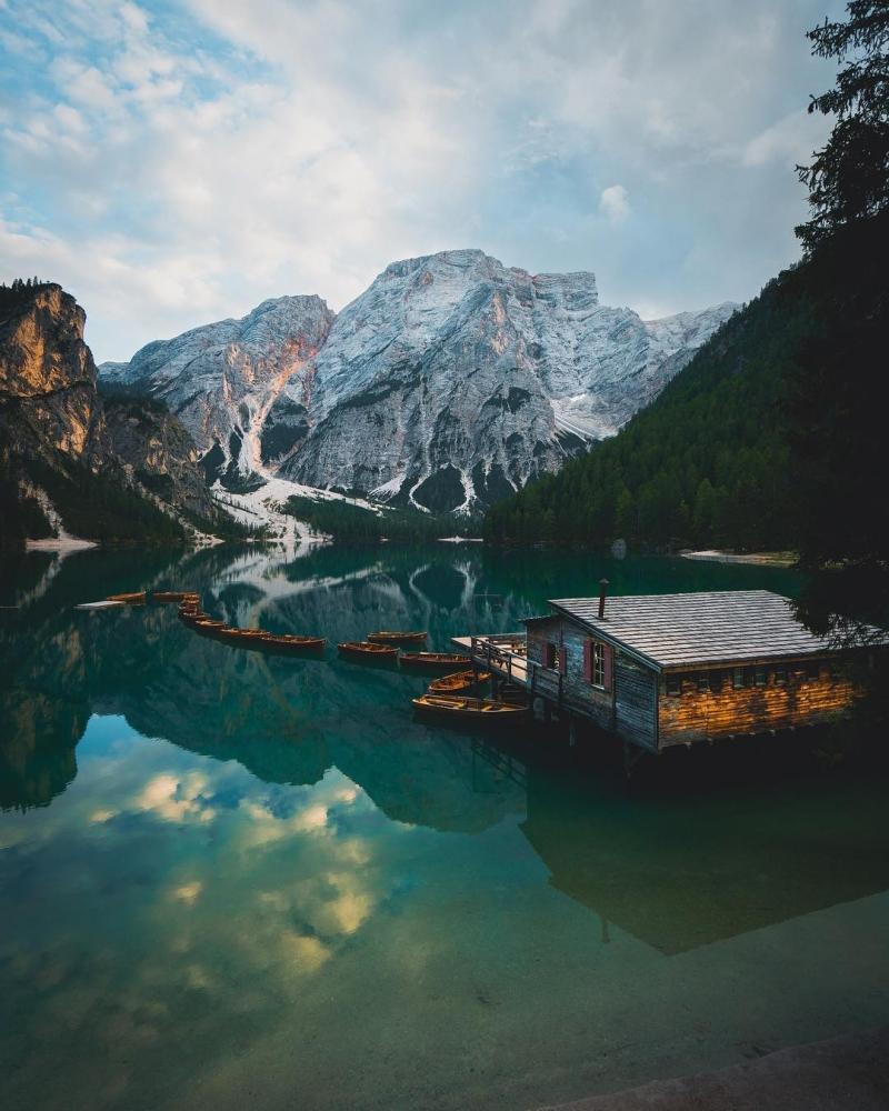 Умиротворение и красота природы в фотографиях Джорджа Илструпа