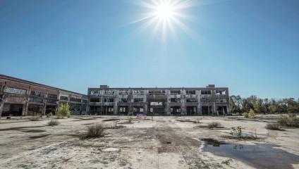Город-призрак: пустые дома и улицы Детройта