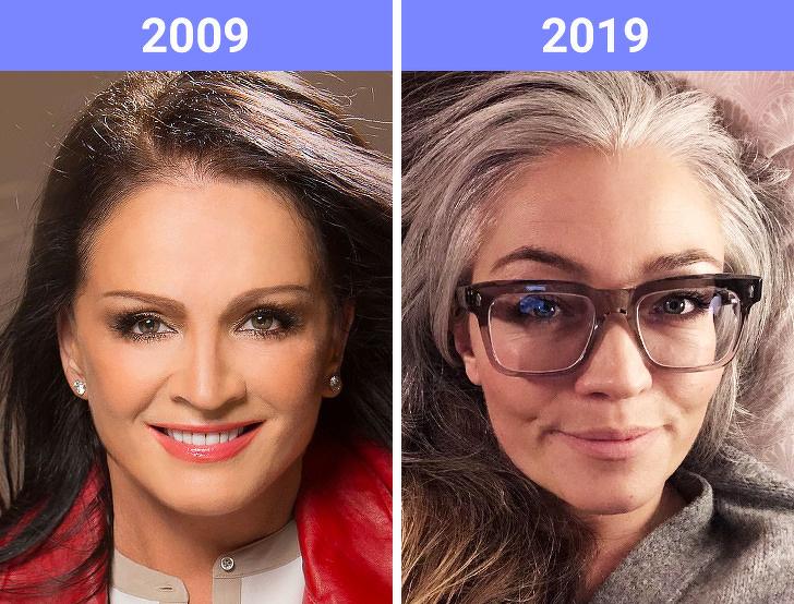 Тенденции красоты в 2019 году принимают вызов #10YearsChallenge, и все действительно изменилось