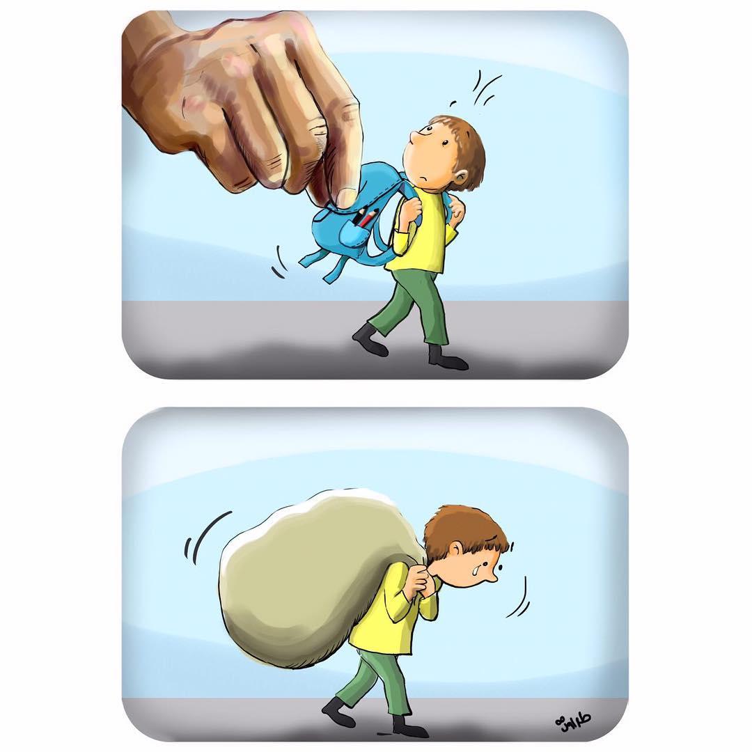 Проблемы нашего общества в сатирических иллюстрациях