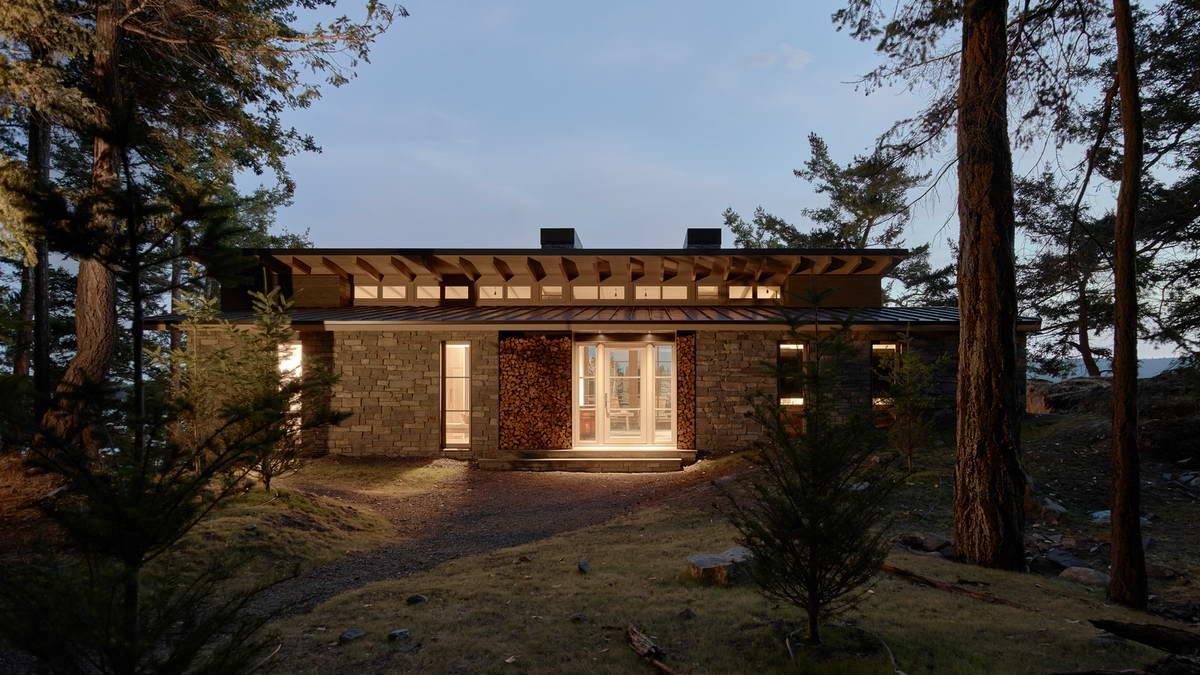Каменные дома на склоне: американская мечта в заповеднике