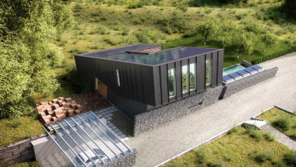 Дом в Норвегии производит в 2 раза больше энергии, чем потребляет
