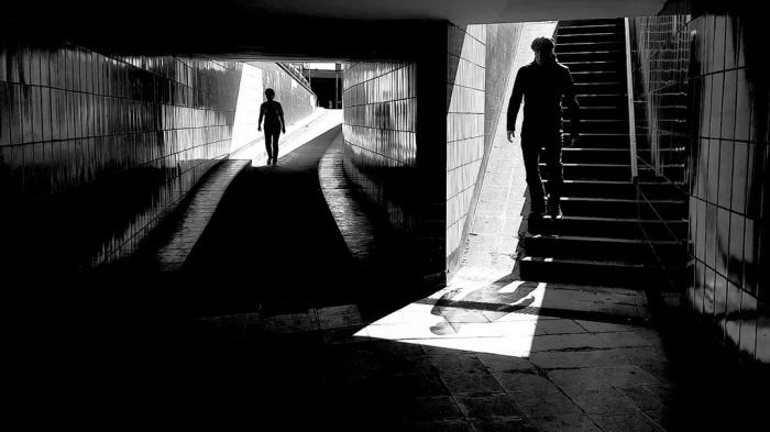 Подземка. Автор: Thomas Leuthard.