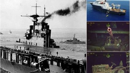Найден авианосец Hornet, который пропал в 1942 году