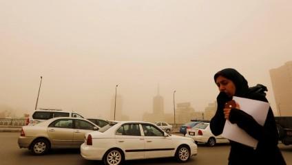 Каир накрыла песчаная буря