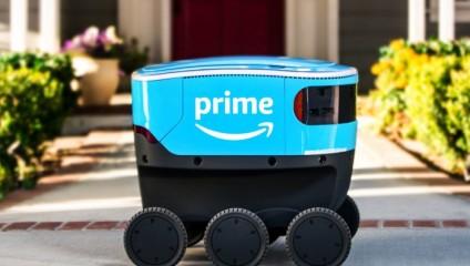 Новая эра в доставке: Amazon тестирует роботов-курьеров