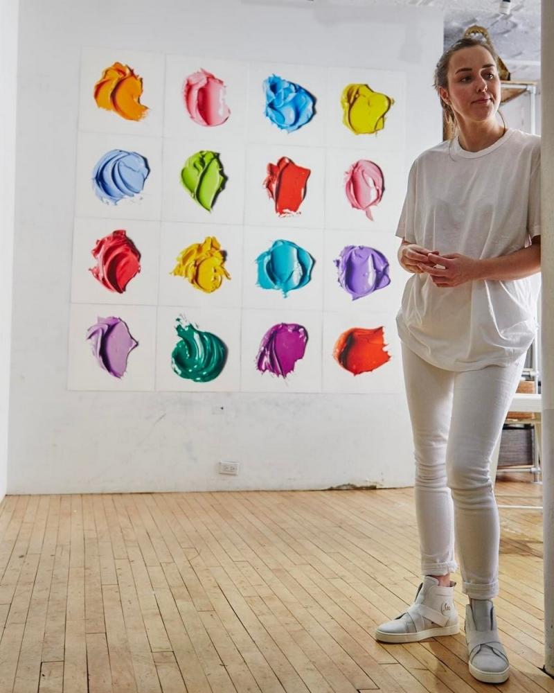 Эти большие мазки краски на самом деле рисунки карандашом (10)