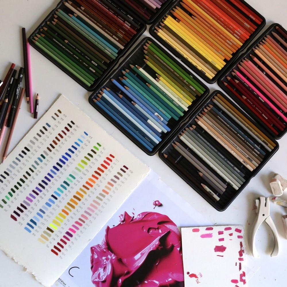 Эти большие мазки краски на самом деле рисунки карандашом (2)
