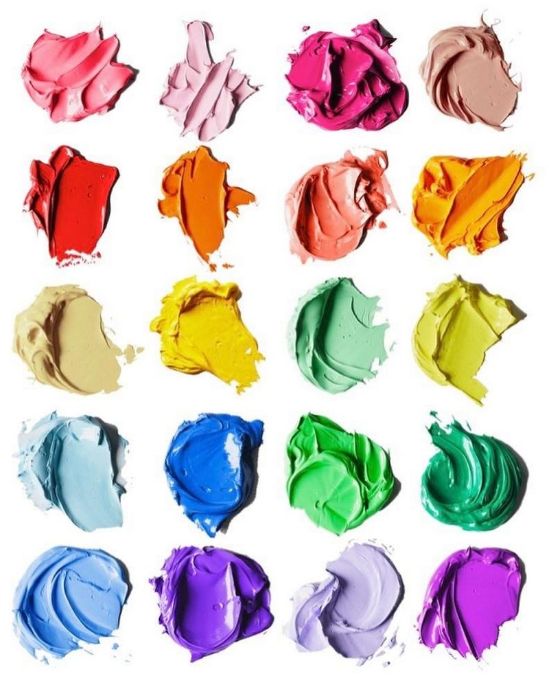 Эти большие мазки краски на самом деле рисунки карандашом (9)