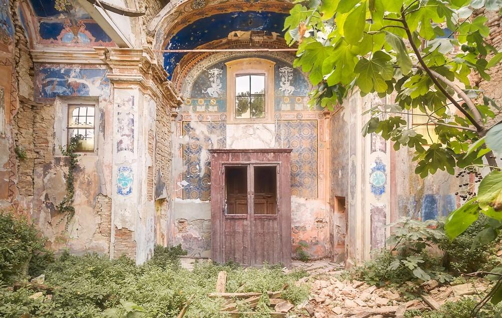 Красивые заброшенные здания Италии (10)