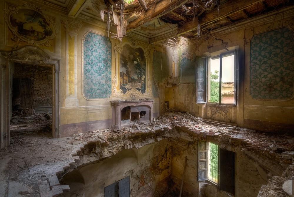Красивые заброшенные здания Италии (12)