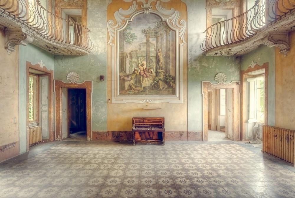 Заброшенные храмы и дома Италии
