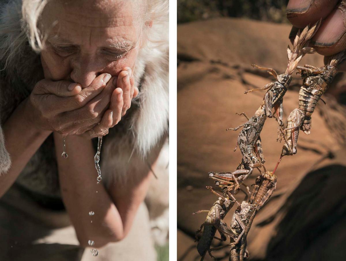 Назад в палеолит_ охотники_собиратели 21_го века в фотопроекте «Живущие дикими» 12