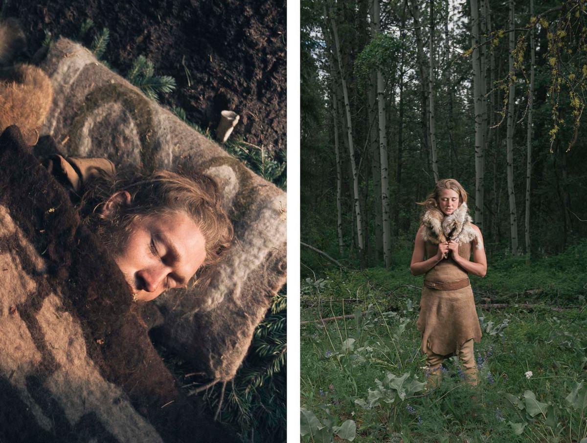 Назад в палеолит_ охотники_собиратели 21_го века в фотопроекте «Живущие дикими» 15