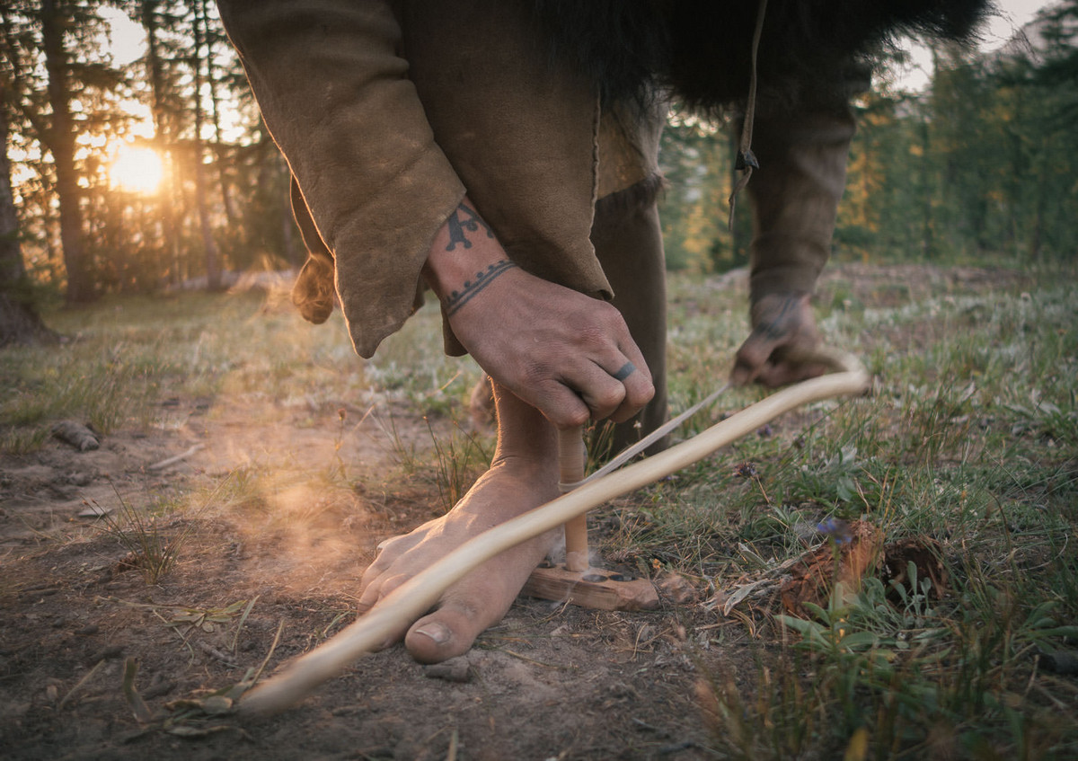Назад в палеолит_ охотники_собиратели 21_го века в фотопроекте «Живущие дикими» 2