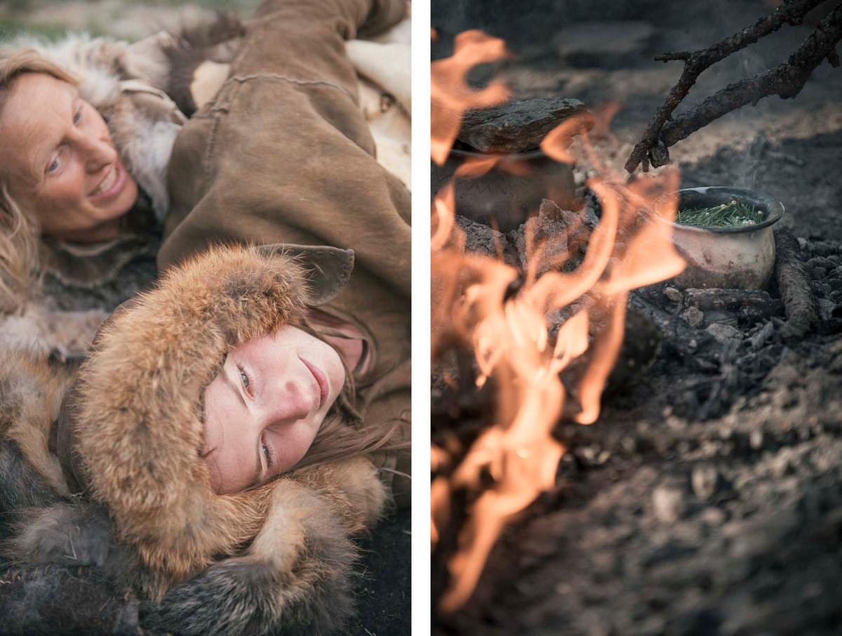 Назад в палеолит_ охотники_собиратели 21_го века в фотопроекте «Живущие дикими» 8