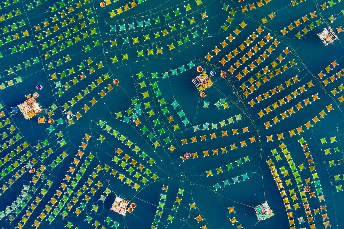 Прекрасные виды с воздуха в фотографиях победителей конкурса Dronestagram 6