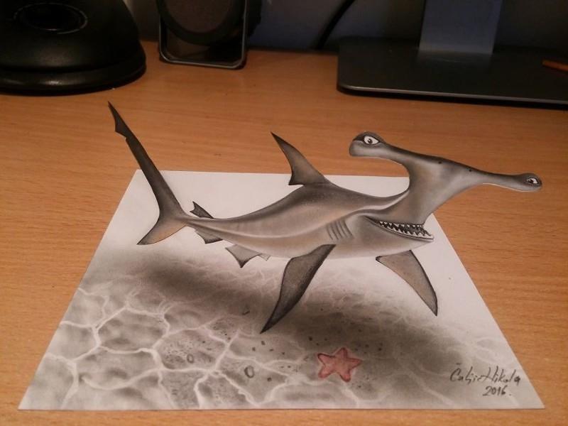 Удивительные 3D_рисунки от сербского художника (10)