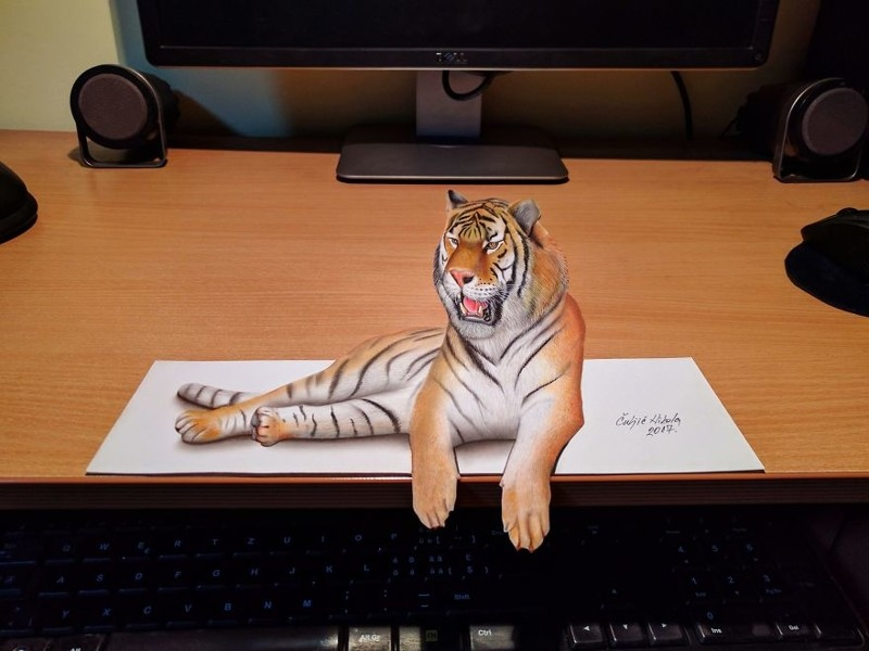 Удивительные 3D_рисунки от сербского художника (13)