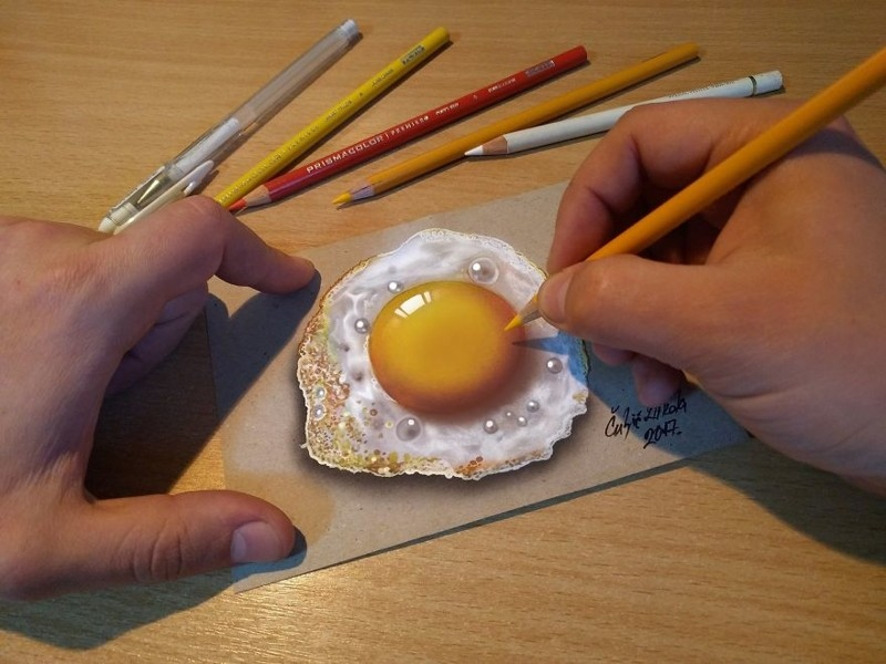 3D-иллюстрации на бумаге от Николы Кулич