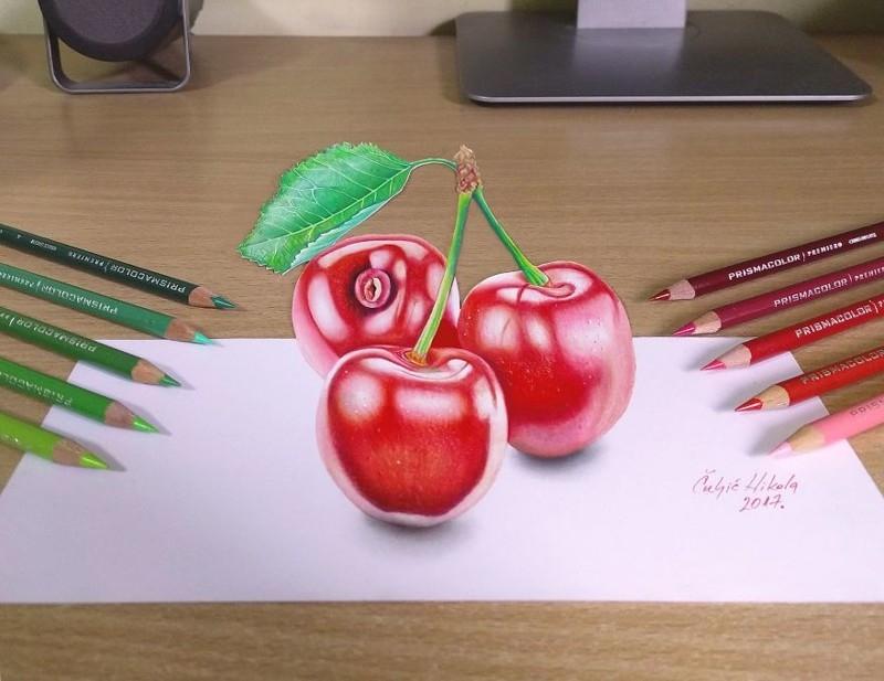 Удивительные 3D_рисунки от сербского художника (6)