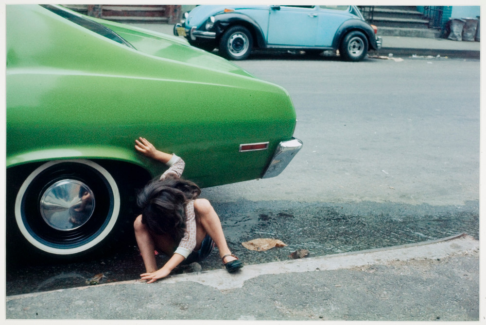 Уличная жизнь Нью_Йорка с 1930_х до 80_х годов в фотографиях Элен Левитт 6