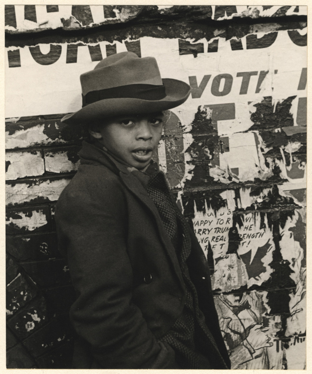 Уличная жизнь Нью_Йорка с 1930_х до 80_х годов в фотографиях Элен Левитт 9