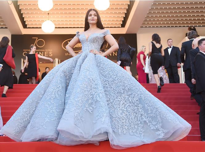 Айшвария Рай в платье Michael Cinco Couture
