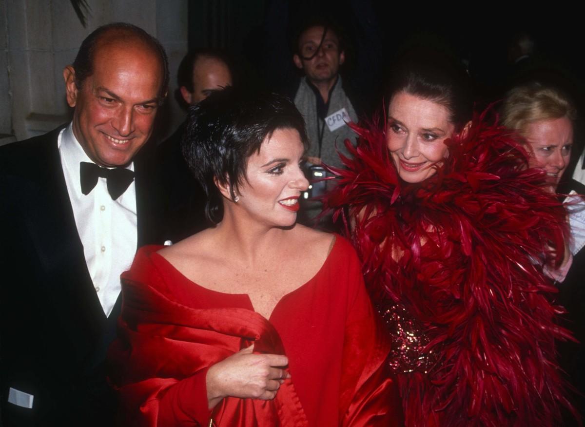 Лайза Минелли и Одри Хепберн, «Оскар» 1981