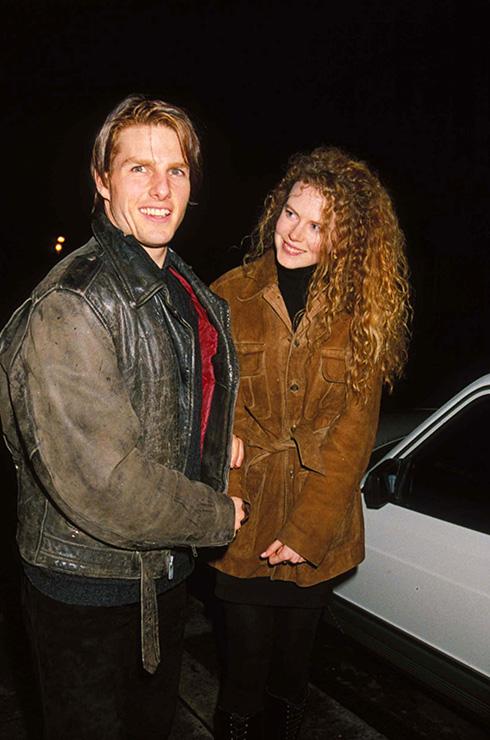 Tom Cruise And Nicole Kidman, In Kensington, London