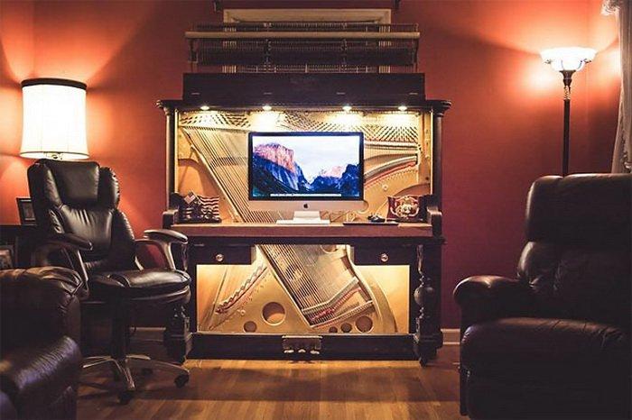 100_летнее пианино превратили в рабочий стол класса люкс (8)