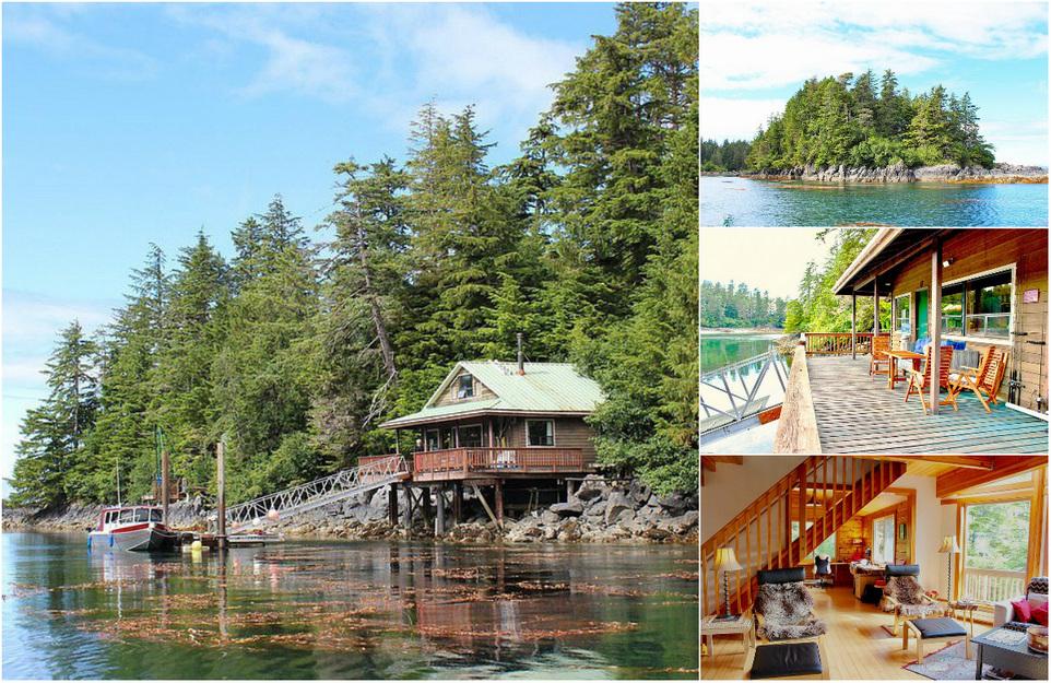 На Аляске продается райский остров: фотообзор