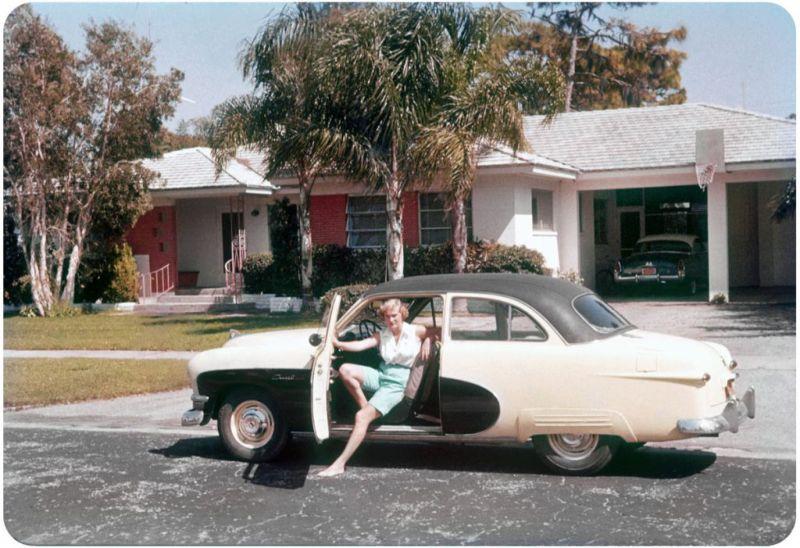 Американцы и их стильные автомобили в 50_е годы (12)