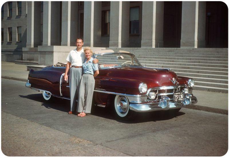 Американцы и их стильные автомобили в 50_е годы (13)