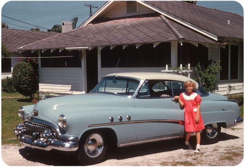 Американцы и их стильные автомобили в 50_е годы (7)