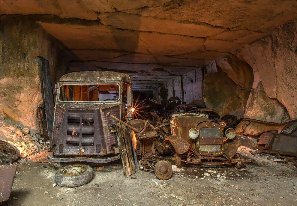 Бельгиец обнаружил кладбище автомобилей времен Второй мировой войны (2)