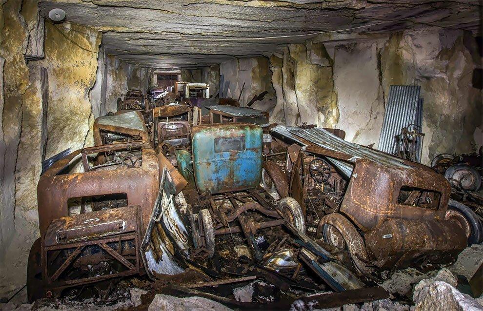 Бельгиец обнаружил кладбище автомобилей времен Второй мировой войны (3)